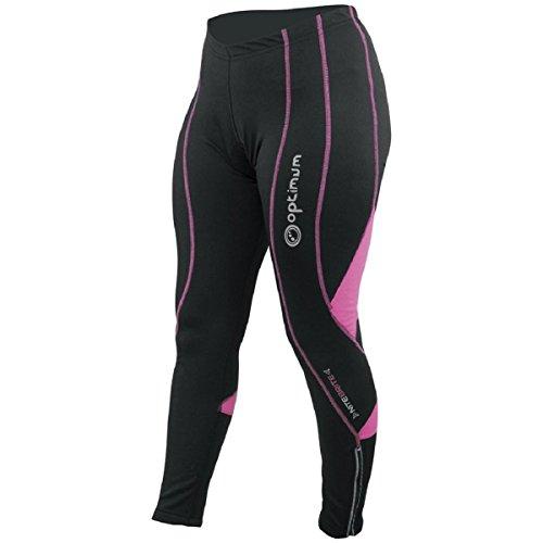 OPTIMUM - Culotte para Mujer,Talla 16, Color Negro/Rosa