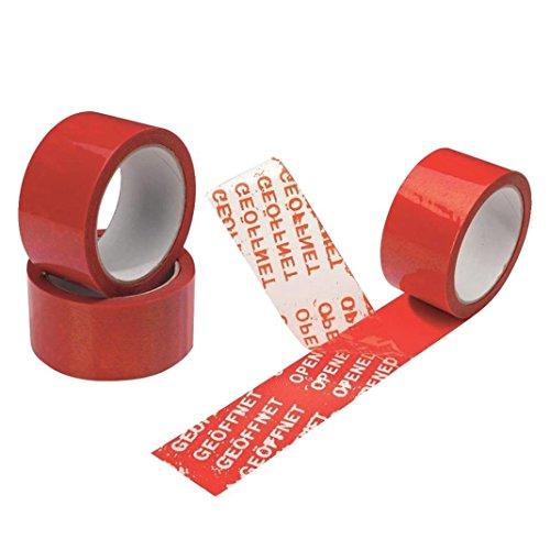 Maxtape 216096 Sicherheitsklebeband 50mmx50m in signal-rot