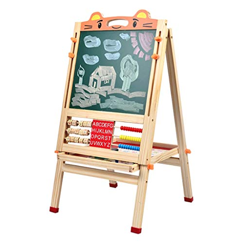 yaya Kids Easel Drawing Board Magnetische Kleine Blackboard Whiteboard Bracket Type Leerplank Thuis Graffiti Easel Children's Gift