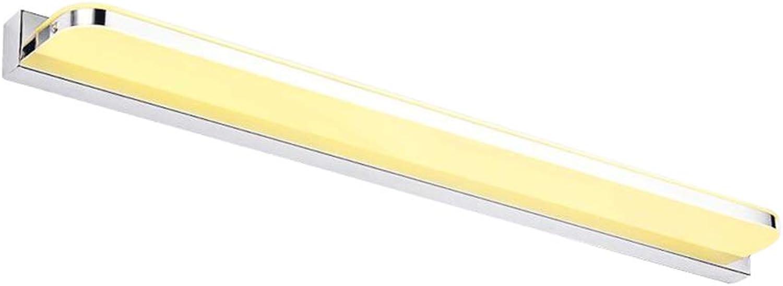 SUNNY LED Spiegellicht 9W-28W weies Licht Warmes Licht Wasserdicht und Anti-Beschlag (Farbe   Warmes Licht-42cm)