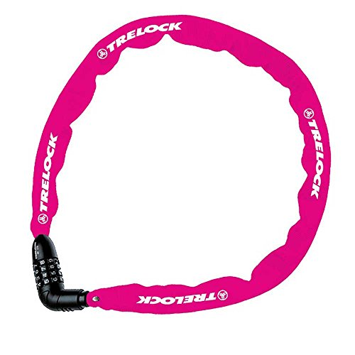 TRELOCK BC 115/110/4 Code kettingslot unisex volwassenen, roze
