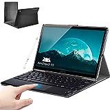 Tablet 10.8 Pollici con tastiera+ 5G WIFI 10 Core Android 10, 6GB RAM + 128GB ROM, 512GB Espandibili, Batteria...