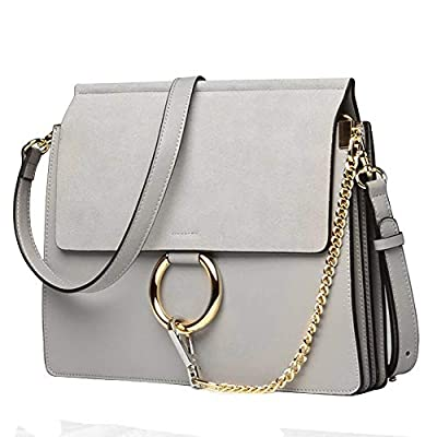 Normia Rita Women Genuine Leather Crossbody Shoulder Purse Chain Messenger Bag for Girls Elegant Clutch