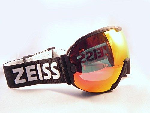 Zeiss Maschera da Sci - Ski Goggles Interchangeable Black - ML Red/Flash Silver