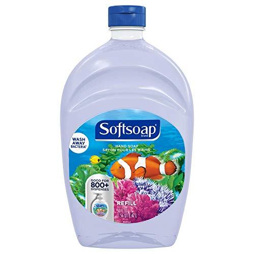 Softsoap Liquid Hand Soap Refill, Aquarium Series, 50 Fl Oz