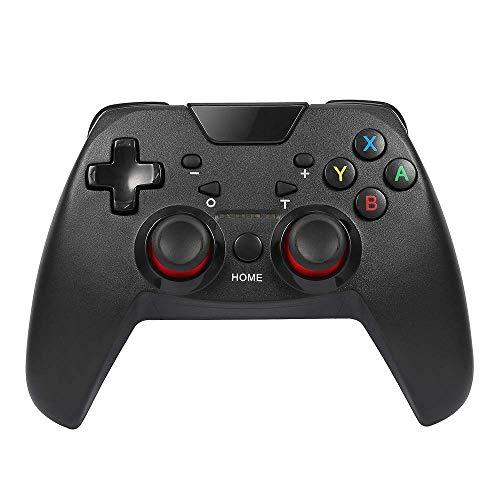 GAME JIANG Inalámbrico Interruptor Controlador por NS Switch & PC, Bluetooth Pro Gamepad Remoto Joypad, con Motor De Vibración Dual, 6-Eje Sensing, Función Turbo (Producto De Terceros)