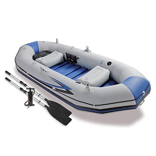 BAHAOMI Kayak Hinchable,Botes Inflables para 3 Personas,Canoas De Mar,Portátil En Bote Plegable...