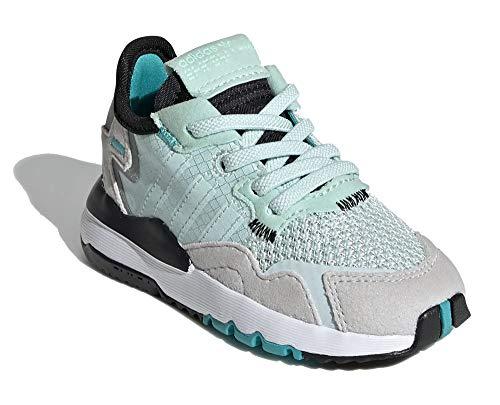 adidas NITE Jogger EL I - Zapatillas para niño, color azul, color Azul, talla 26 EU