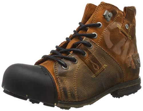Yellow Cab Herren Industrial Biker Boots, Braun (tan 800), 43 EU