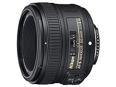 Objetivos de Cámaras Nikon