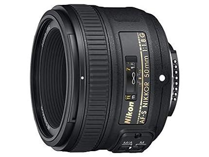 Nikon AF-S 50mm F1.8 G - Objetivo para Nikon (distancia focal fija 50mm, apertura f/1.8) color negro - Versión Europea