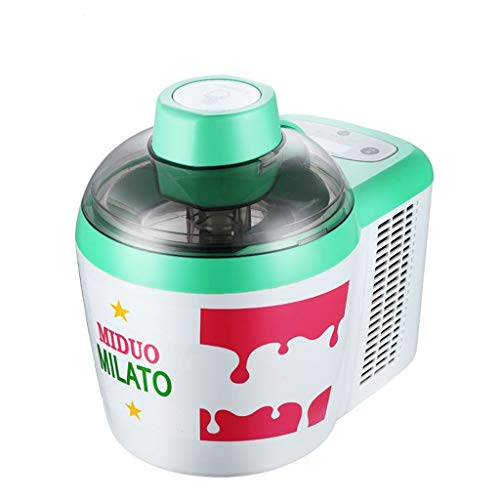 Lowest Prices! Full Automatic Ice Cream Maker With LCD Timer, 0.54 Quart Frozen Yogurt Sorbet Maker,...