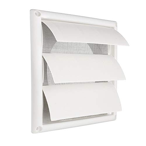 Air Vent Grille, Ventilation Cover Plastic Muurroosters Duct 200 X 200 X 40 Mm Verwarmen Koelen & Vents Vents