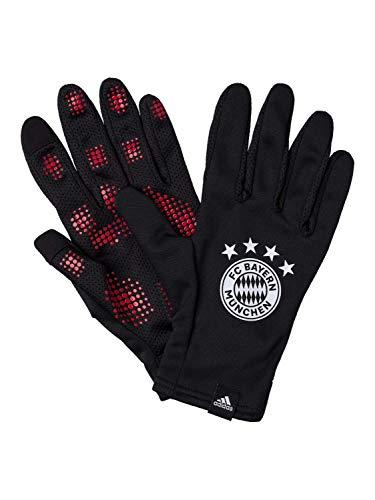 adidas FCB Handschuh Guantes para Hombre, Negro, Small