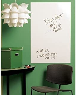 House of Quirk White Board Self Adhesive Wall Sticker - Large