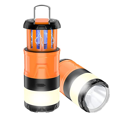 Camping Light, Camping Lantern, Emergency Light Bug Zapper with 5 Modes...