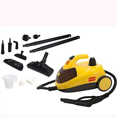 Vaporizador e Higienizador 1500W Vapor Clean VAPORCLEAN-127V com 14 acessórios Intech Machine (127V), Amarelo