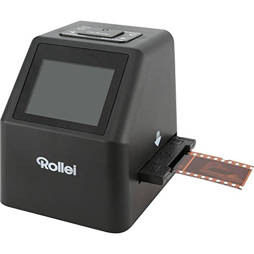 Rollei DF-S 315 SE Diascanner, Negativscanner 14 Mio. Pixel Display, Speicherkarten-Steckplatz, Super 8 Rollfilme, Pocke