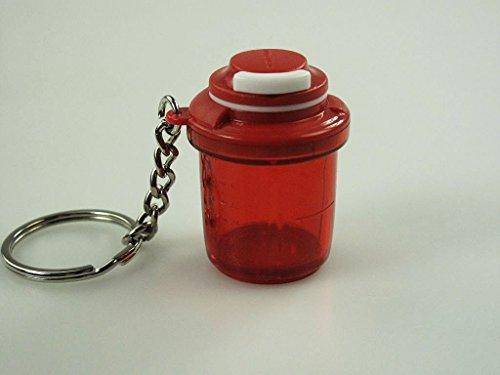 TUPPERWARE Schlüsselanhänger rot Extra Chef Miniatur ExtraChef Anhänger