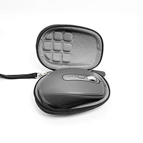 HUANGGUA Eva Rigid Hard Travel Case for Logitech MX-Anywhere 3 Gen Wireless Mobile Mouse