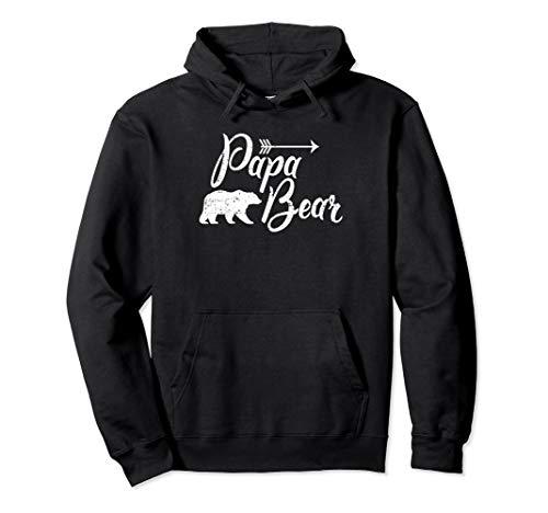 Papa Bear Mens Hooded Sweatshirt