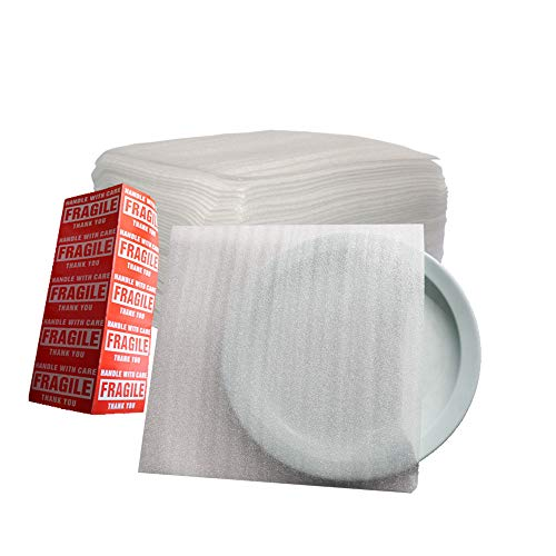 Offitecture 12' x 12' Foam Pouches, 50-Pack