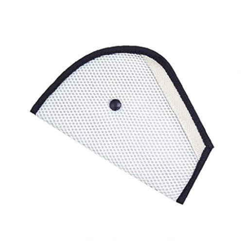 KHHGTYFYTFTY Dreieck Kissen Clip Auto-Sicherheits-Sitzteller Kind-Auto-Sicherheitsgurt (grau) 1pc