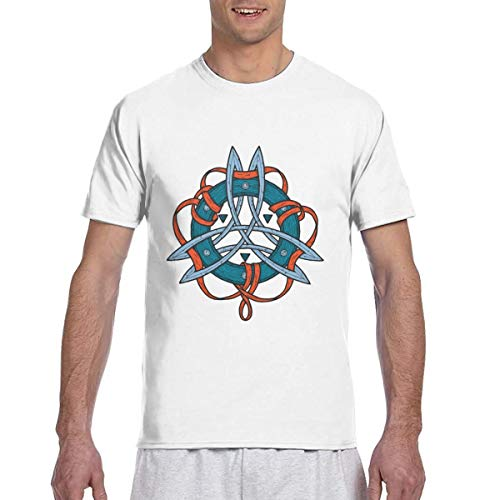 Celtic Ritual Norse Nordic Viking Art T Shirt Tshirt for Men Summer Casual Clothes Dresses