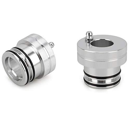 OVBBESS Kit de herramientas de servicio de engrasador de rodamientos de rueda de 35 mm+40 mm para accesorios UTV/ATV