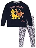 Disney Sudadera y Leggings para niñas The Lion King Rey León Multicolor 4-5 Años