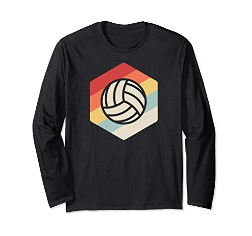 Retro Vintage Volley Ball Team & Coach - Volleyball Long Sleeve T-Shirt