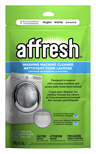 Affresh Washing Machine Cleaner, Cleans Front Load and Top Load Washers, Including HE, 3 Tablets