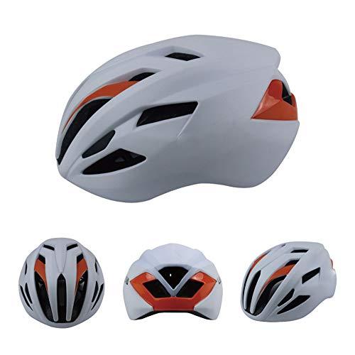 Cascos polivalentes Ligera casco de la bici, Certificado de Ciclo Casco ajustable for Adultos Con desmontable del trazador de líneas de la bicicleta del patín del casco Casco de bicicleta