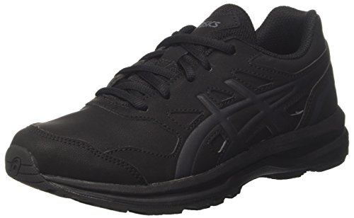 ASICS Damen Gel-Mission 3 Walkingschuhe, Schwarz (Blackcarbonphantom 9097), 39.5 EU