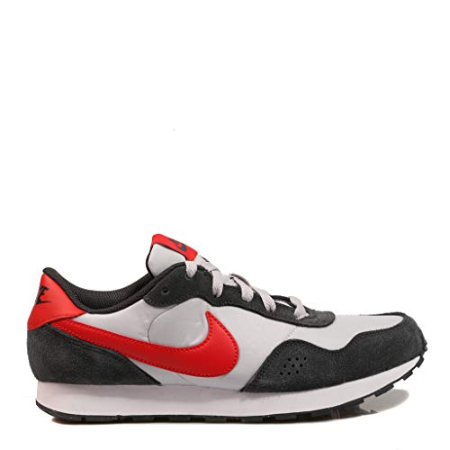 Nike MD Valiant (GS), Zapatillas para Niños, Grey Fog/University Red/Dk SMO, 35.5 EU