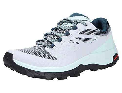 SALOMON Shoes Outline GTX, Chaussures de randonnée Femme, Gris (Bleu...