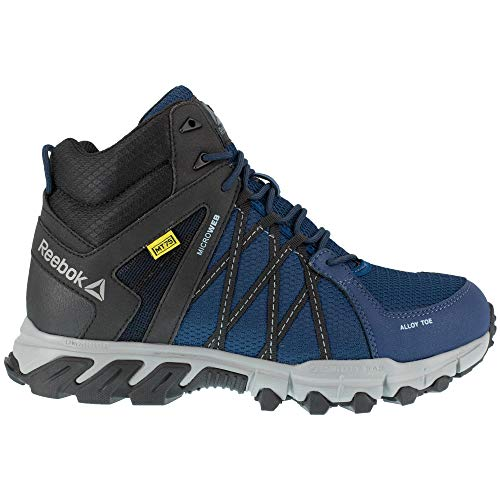 Reebok Trailgrip RB3400 Mens Navy/Black Met Guard Work Boots