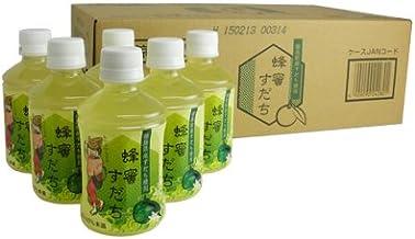 司菊酒造 蜂蜜すだち 280ml×24本 1ケース PET 4909090242801