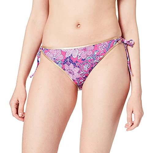 Women' Secret Braguita de Bikini Lazada Estampada, Morado/Lila, XS para Mujer
