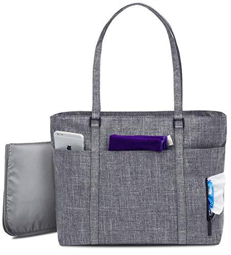 GFQ Wickeltasche, modisch, multifunktional, große Kapazität, Schulterwindeltasche, Baby-Reisetasche