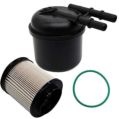 Oil Filter FD-4615 6.7 Powerstroke Fuel 5 Micron Fuel Water Separator Filter Kit Fits Fords 2011-2016 6.7L F250 F350 Powerstroke ,OEM BC3Z-9N184-B Diesel Filter FD4615