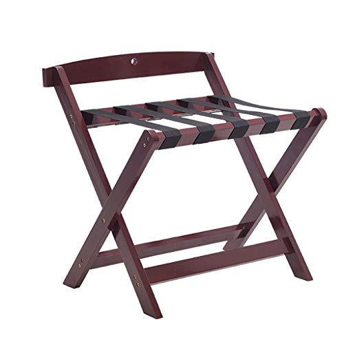Find Bargain Luggage Rack - Solid Wood - Foldable - W60x D40 x H60CM/W60x D50 x H65CM - Family, Bedr...