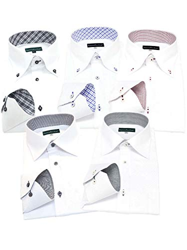 GREENWICH POLO CLUB(グリニッジポロクラブ) 長袖ワイシャツ 5枚セット メンズ pb 333-L