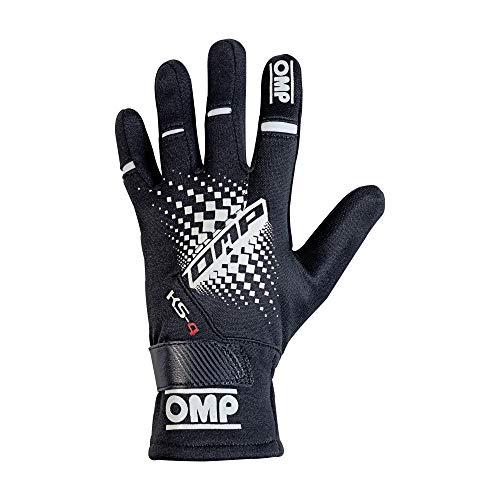 Omp OMPKK02744E071L Ks-4 Handschuhe My2018 Schwarz Sz L