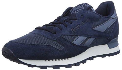 Reebok Classic Leather Clip ELE, Zapatillas para Hombre, Azul (Blue Peak/Collegiate Navy/Blue Slate), 40 EU