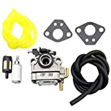 10. SecosAutoparts Carburetor Fit For Craftsman 30CC 4-CYCLE Gas Trimmer Weedwacker Rep 73197 carb