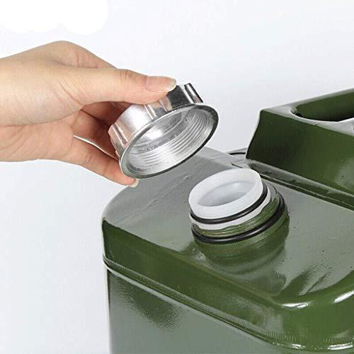Cxjff Gasolina latas de gasolina del tanque - Auto-conducción Tour de espesado de gasolina portátil cañón de repuesto latas de gasolina del tanque de combustible del coche de emergencia del depósito d