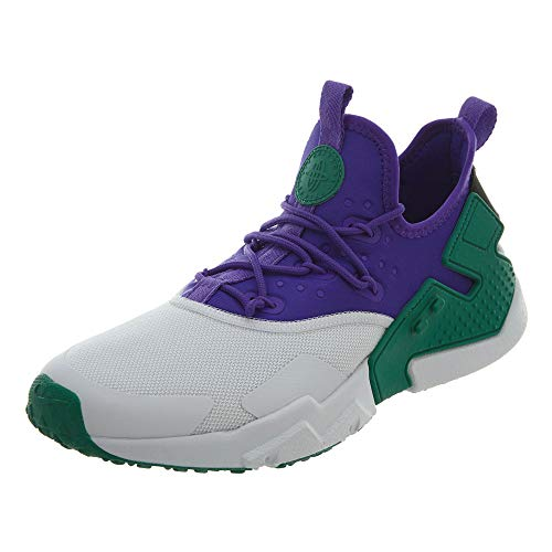 Nike Air Huarache Drift White Fierce Purple Herren, (Cool Grey/Turbo Green/White/Volt), 38.5 EU