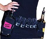 Hüftgurt mit zwei Flaschenhaltern, quadratisch