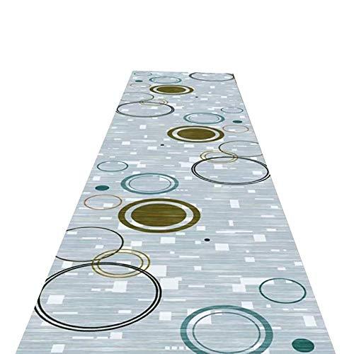 LLXbtd Cocina contemporánea de la Zona Long Runner Alfombras for Hall, pasillos, Pasaje, Pasillo, Cocina, 60cm / 80cm / 90cm / 100cm / 120cm Ancho (Tamaño: 100x800cm) (Size : 90x900cm)